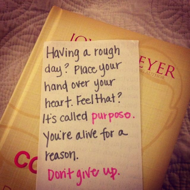 Joyce Meyer Quotes for Women | On Sunday, I went to pay my rent and found out I had a package waiting ...