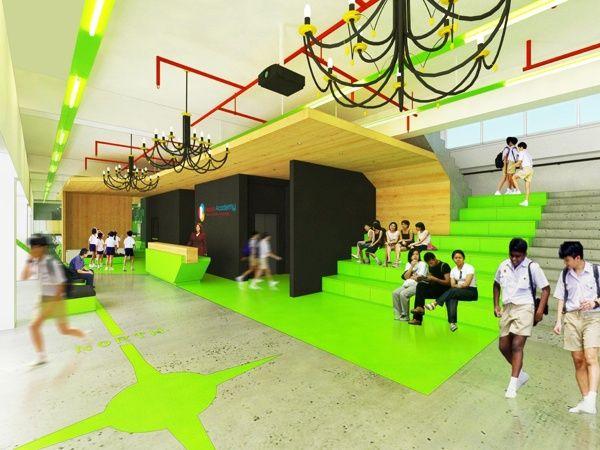 Beacon Academy By Studio Kepribo Via Behance School ArchitectureSchool DesignBright