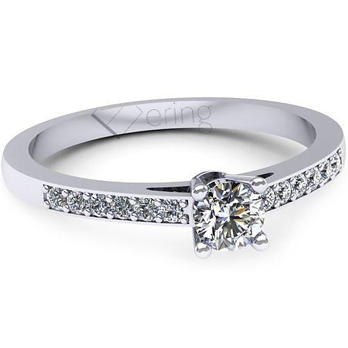 Inel logodna L136ADI cu diamante