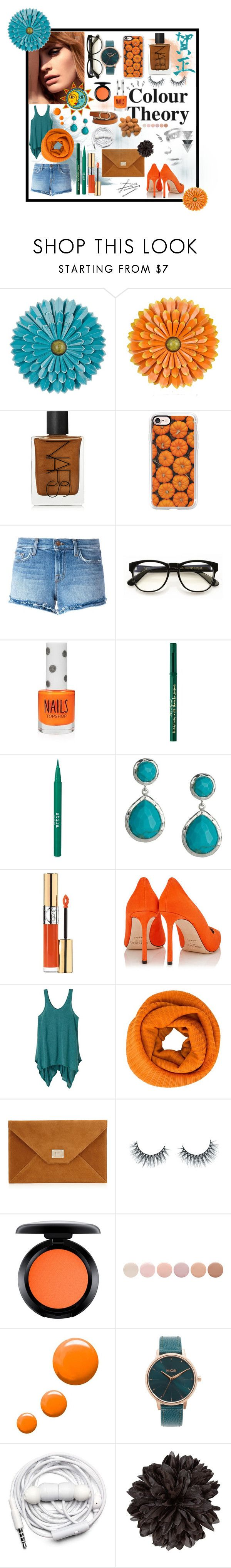 """""""Miss Zen"""" by lajoiedesarah on Polyvore featuring mode, NARS Cosmetics, Casetify, J Brand, Wildfox, Topshop, Too Faced Cosmetics, Stila, Ippolita et Yves Saint Laurent"""
