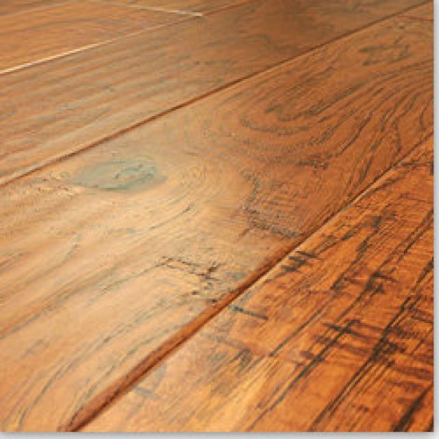 Engineered Wood Flooring Buyer's Guide:  Hickory, Oak, Bamboo, and More: Engineered Wood Flooring:  Hand-Scraped Hickory