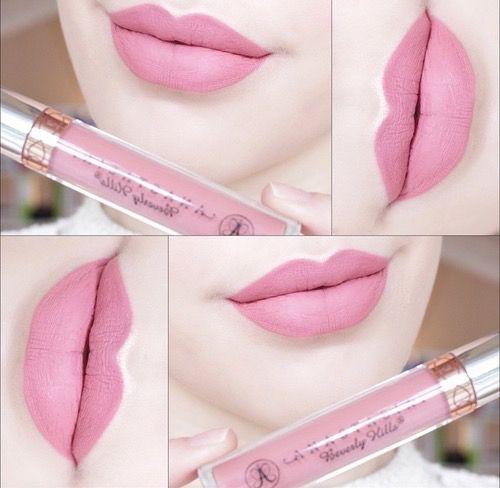 Anastasia Beverly Hills Liquid Lipstick in Baby Pink
