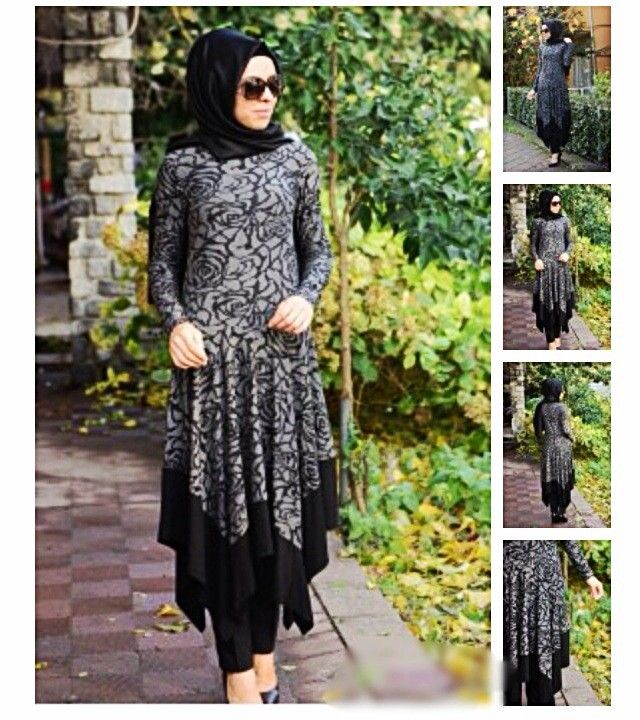 Fusion Handkerchief Print Abaya via Hijabi Style Fashion Shoppe. Click on the image to see more!