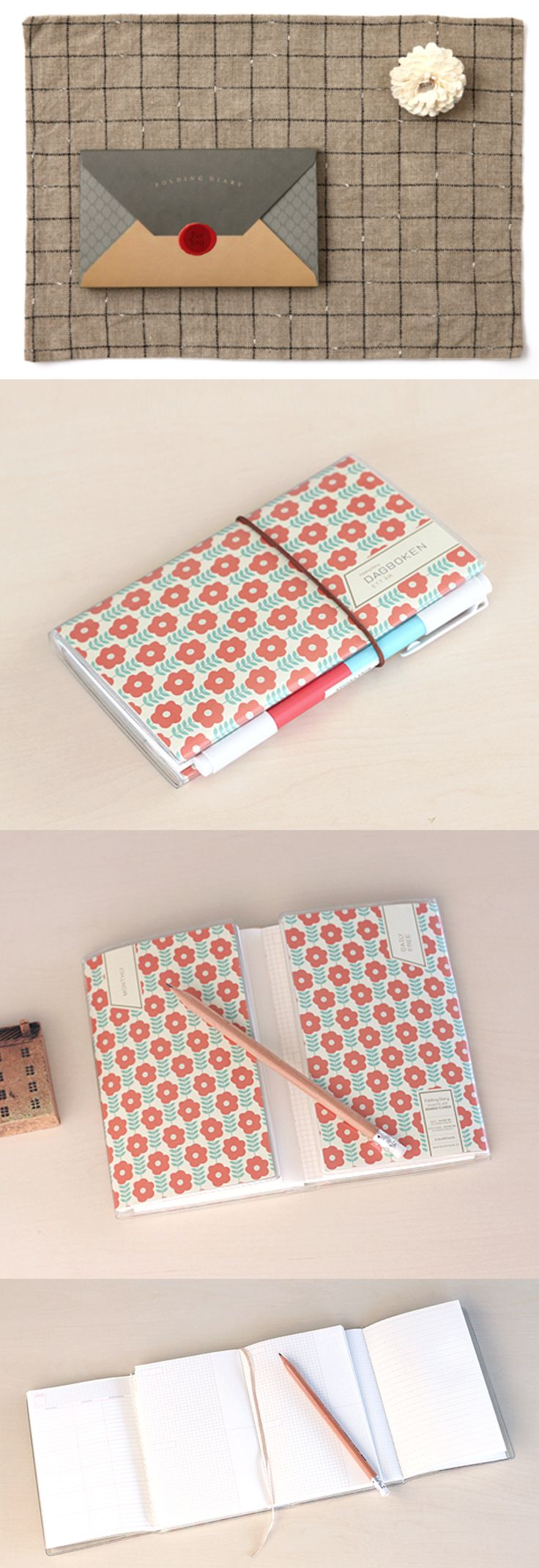 As they say, great things come in small packages and the Small Nordic Pattern Scheduler is no exception! It's easy to store, a great travel companion and conveniently unfolds, so you can see all your plans at once!