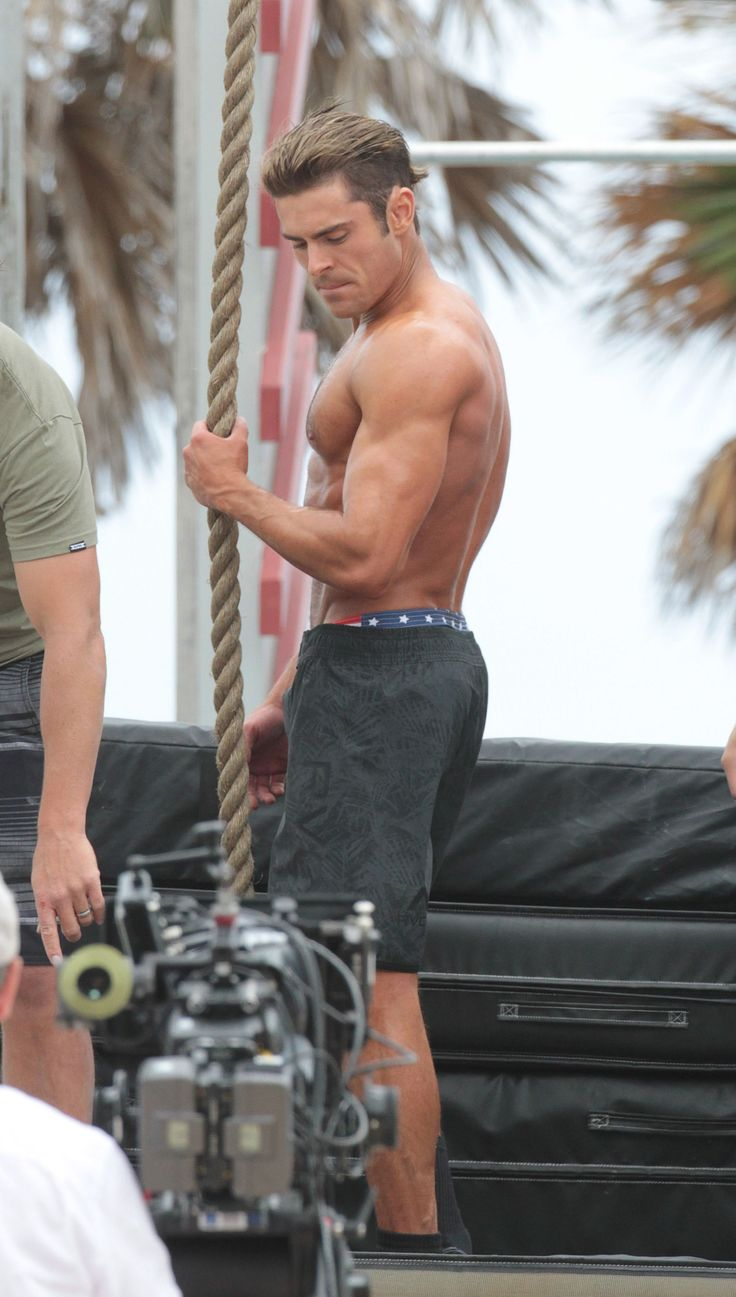 Zac Efron Actually Beat The Rock At Something Physical: See The Pics