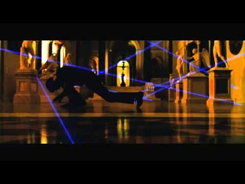 Oceans Twelve Laser Dance HD 1080p - YouTube  [Vincent Cassell, seen here - if it is indeed him - was trained, before the film opportunity,  in the Brazilian martial art of capoeira]