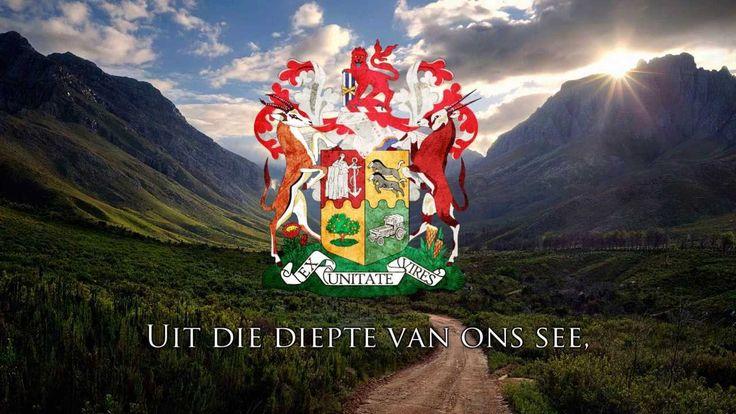 """National Anthem of South Africa (1957-1994) - """"Die Stem van Suid Afrika"""""""