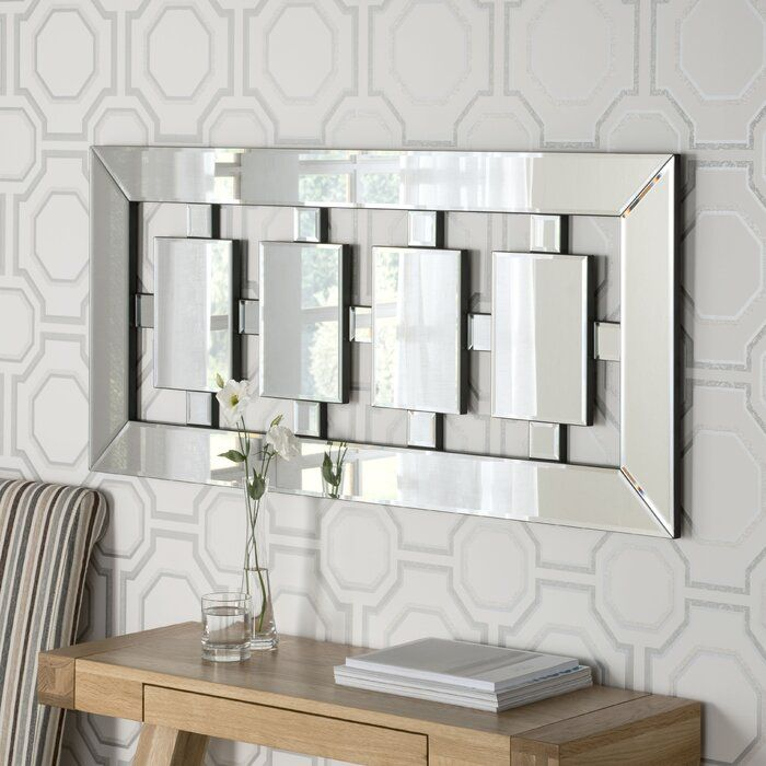 Noam Accent Mirror Mirror Wall Wall Mirrors Long Contemporary Wall Mirrors