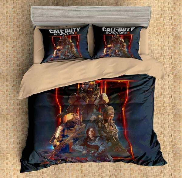 3D Customize Call of Duty Black Ops Bedding Set Duvet Cover Set Bedroom Set Bedlinen