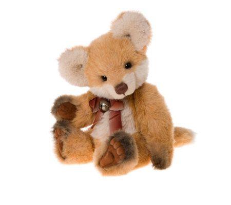 "Charlie Bears Collectable Fernando 15"" Plush Bear"