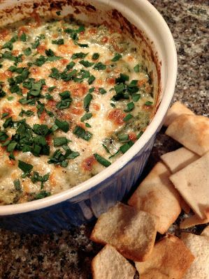morsels & sauces: Baked Artichoke Dip