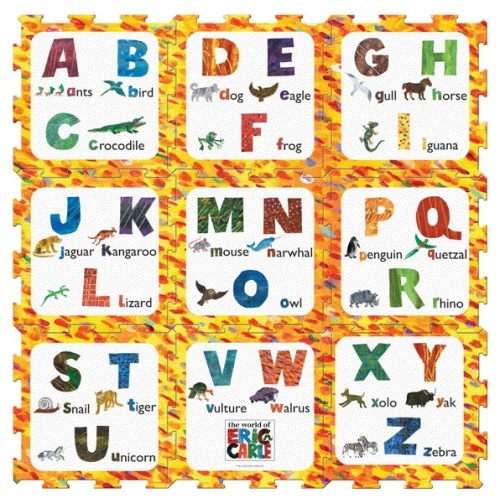 Eric Carle Alphabet Play Mat Set Baby Stuff Rosie Loves