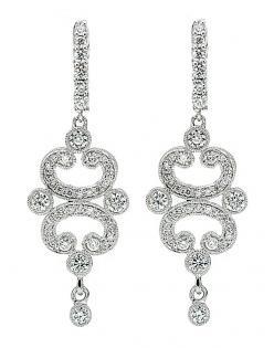 Leslie greene diamond earrings bling pinterest for Leslie greene jewelry designer