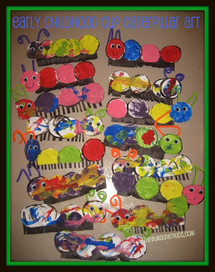 Caterpillar Art for Early Childhood