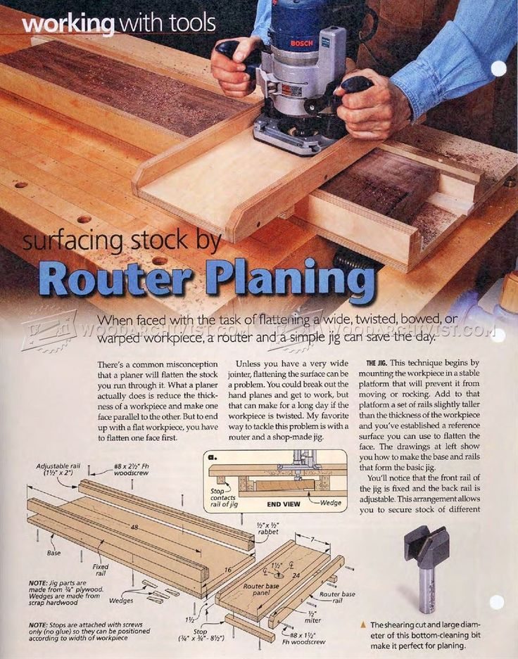 image of #67 Router Planing Jig