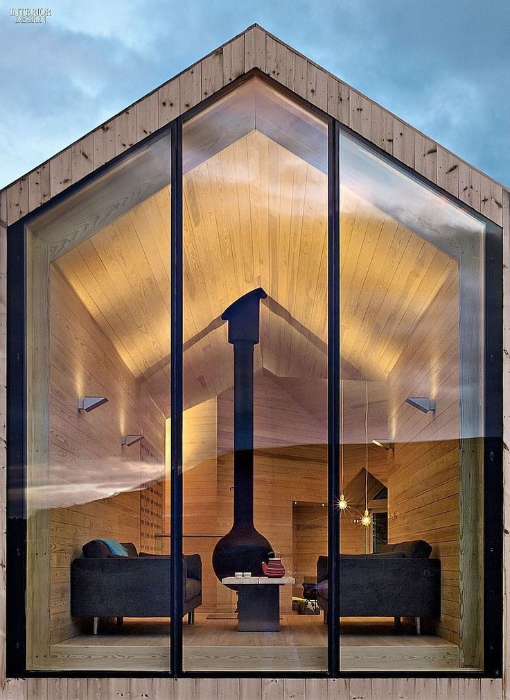 Ski In, Stroll Out: Reiulf Ramstad Designs a House for all Seasons in Norway | Projects | Interior Design