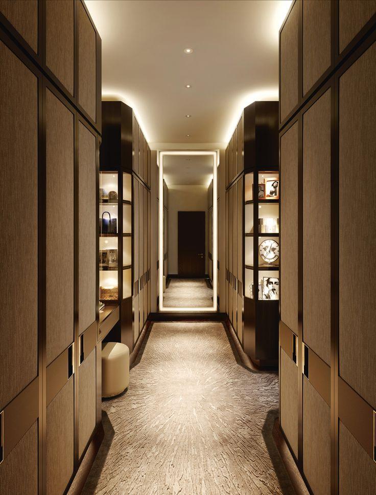 Property Developer Profile - Luxlo. CGI of dressing room