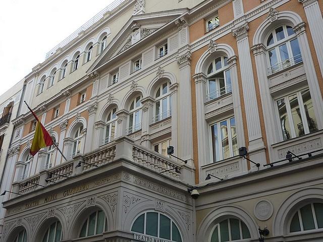 Madrid - Teatro Maria Guerrero by alejandro blanco, via Flickr