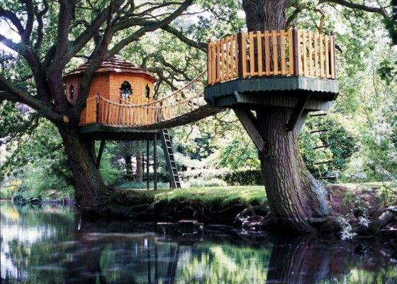 Droom boomhutten voor kinderen - Roomed   roomed.nl