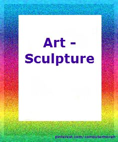 Sculpture - relief, clay, assemblage. Click on image to go to board.