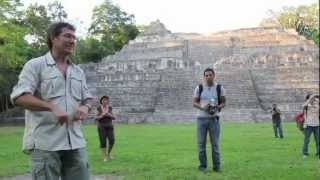 Prominent Belize archaeologist Jaime Awe explains the fundamentals of Maya Architecture and what makes it distinct and impressive. (Cool to hear the animal noises in the background.)