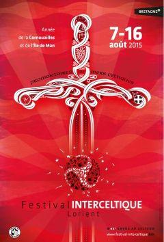 Marque Bretagne - Affiche 2015 du Festival Interceltique de Lorient Festival Interceltique de Lorient Art / culture Exemples de creations 2015