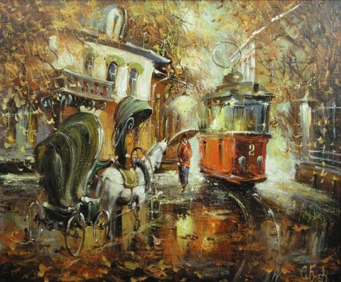 пейзажи художника Сергея Боева – 17