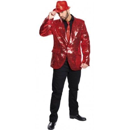 Veste en rouge homme