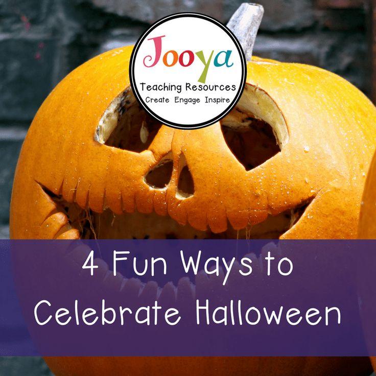 4 Fun Ways to celebrate Halloween in the Music classroom.