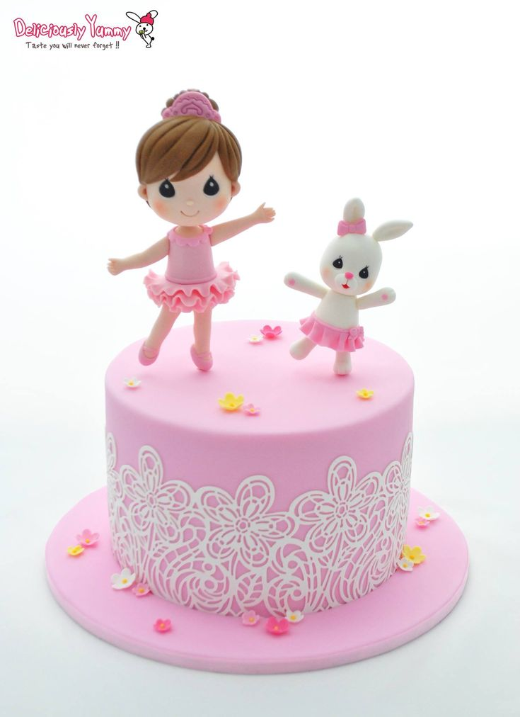 Adorable Cake for a little girl by Deliciously Yummy Sydney