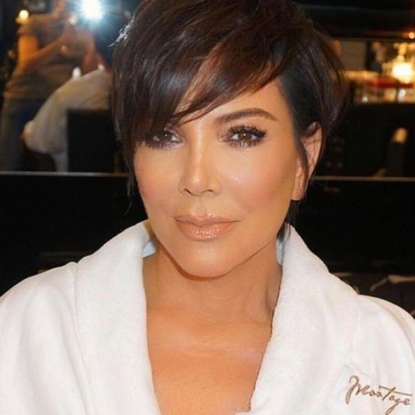 25 gorgeous kris jenner haircut ideas on pinterest kris jenner kris jenner just transformed into her 36 year old daughter and its creepin us urmus Gallery