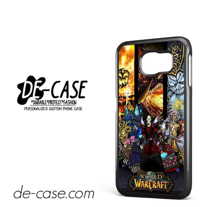 World Of Warcraft Game DEAL-12076 Samsung Phonecase Cover For Samsung Galaxy S6 / S6 Edge / S6 Edge Plus