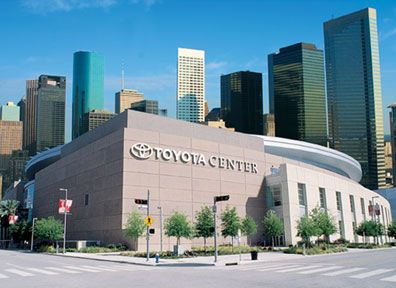 Toyota Center - home of the @Houston Rockets and amazing concerts! Check out their calendar for upcoming games and shows: http://www.houstontoyotacenter.com/events/all