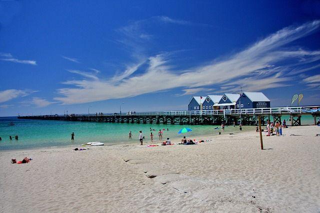 Beach of Perth.