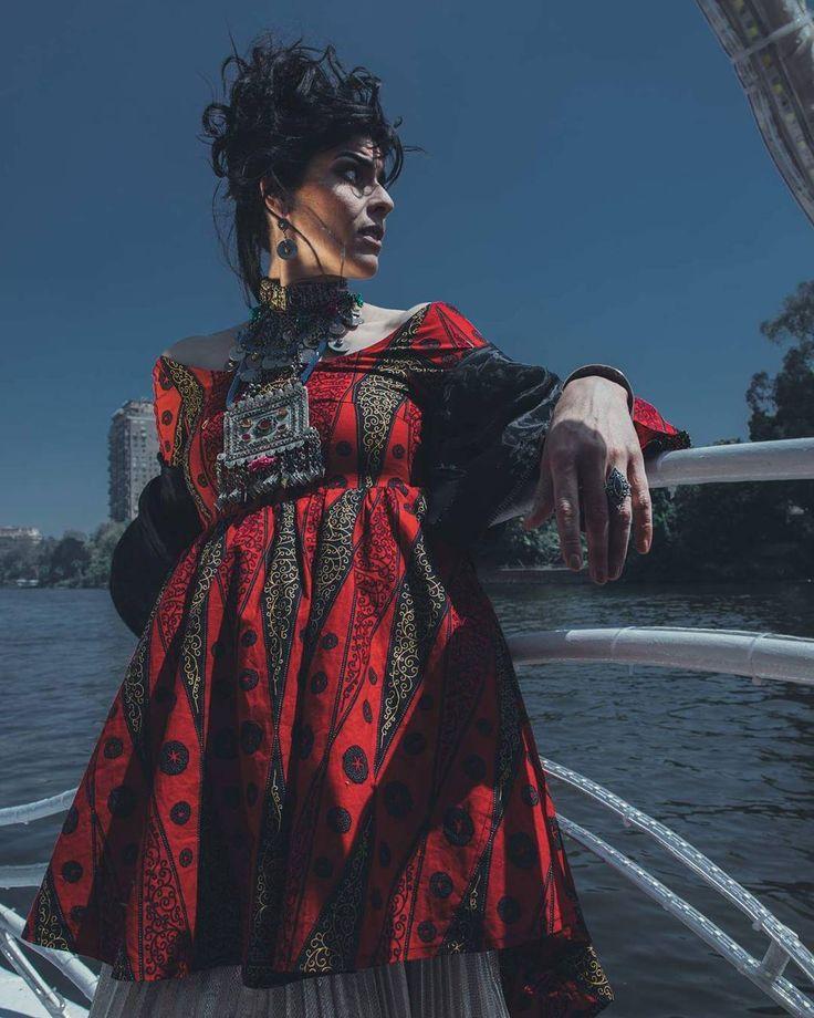 Souad Massi Looks Stunning in Amna Elshandaweely's Latest Shoot