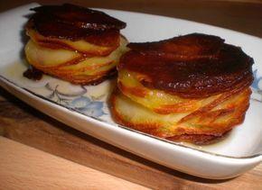 Pommes Anna er en klassisk, fransk ret af noget så simpelt som kartofler. Retten er opkaldt efter Anna Deslions der regelmæssigt holdt sammenkomster på chefkok Adolpe Duglérés – skaberen af retten – café.        I bund og