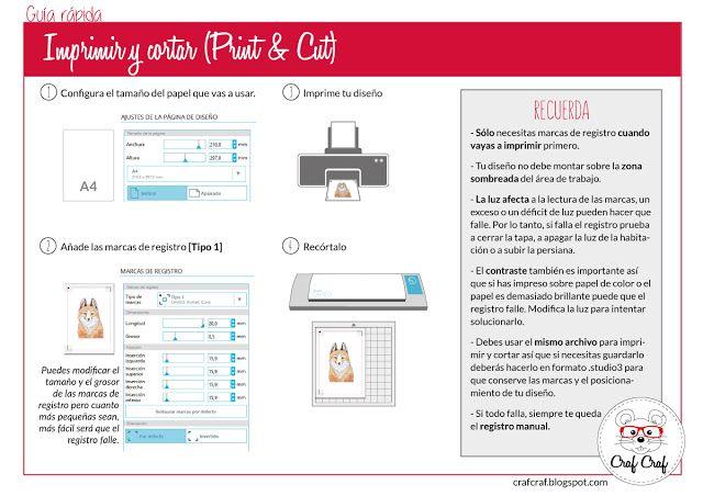 Craf Craf: Imprimir y cortar (Print&Cut)