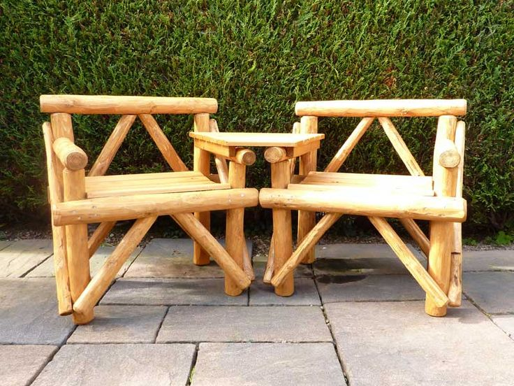 1000 ideas about Rustic Outdoor Furniture on Pinterest