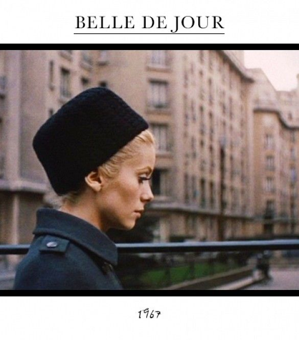 Fashion In Film: The Most Iconic Onscreen Looks via @WhoWhatWear Catherine Deneuve in Belle de Jour