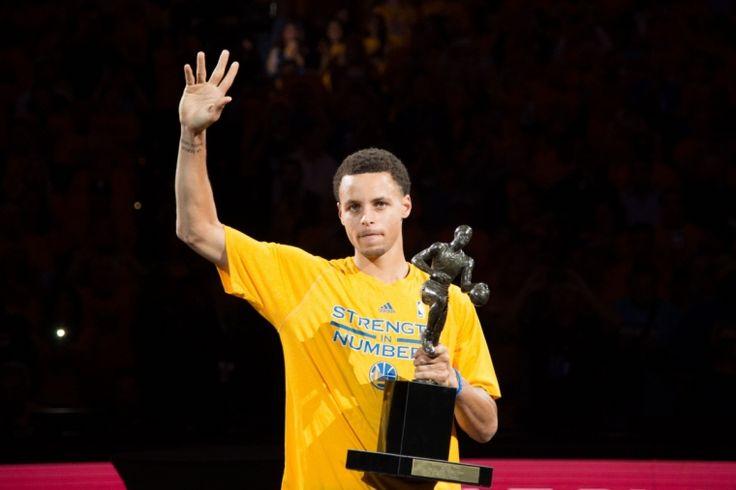 NBA MVP Stephen Curry's acceptance speech: 'I'm God's humble servant'
