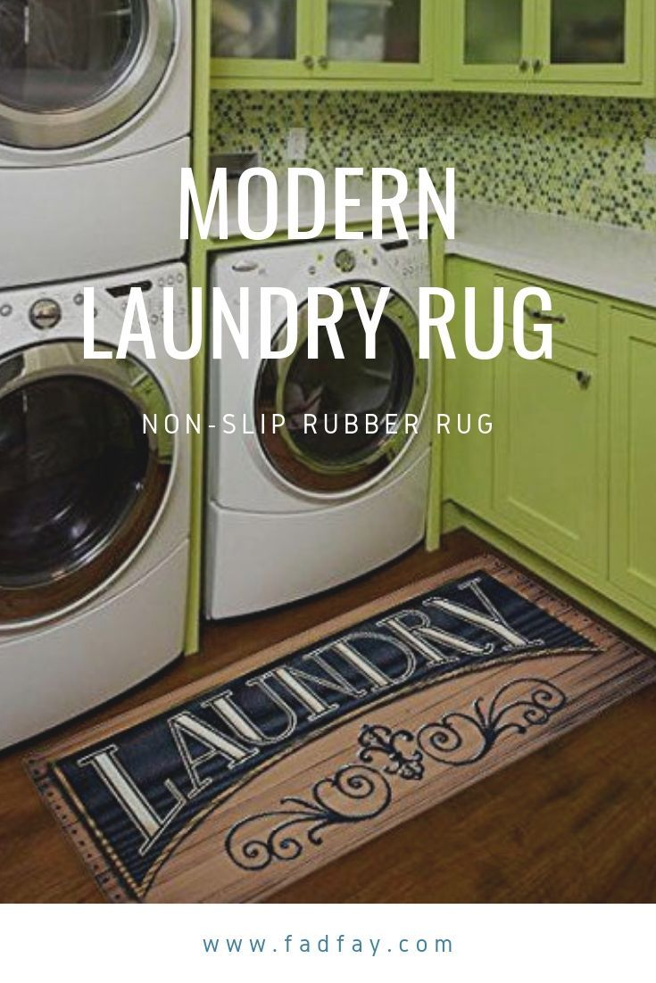 Laundry Rug Non Slip Rubber Rug Mat With Images