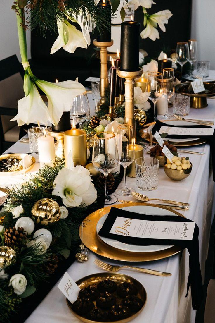 Idéias para um casamento de Natal   – Hochzeitsdeko