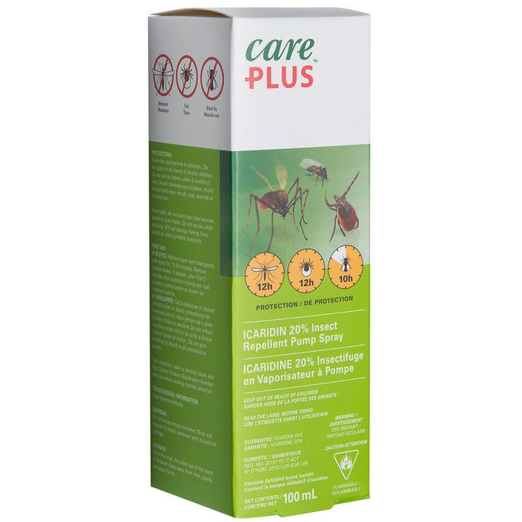 Anti-Insect 20% Icaridin Spray 100ml: If you're looking for an alternative to DEET-based bug sprays, this one has 20% Icaridin as the active ingredient. Provides long-lasting protection and is a good choice f