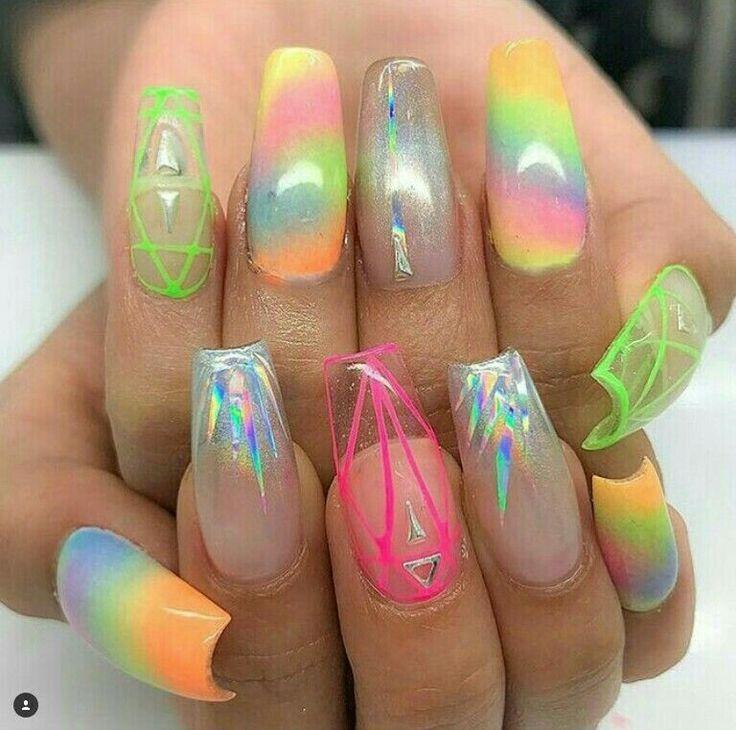 696 best Summer nails images on Pinterest | Nail scissors, Nail art ...