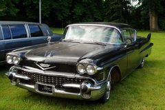 Antique car Cadillac Stock Image