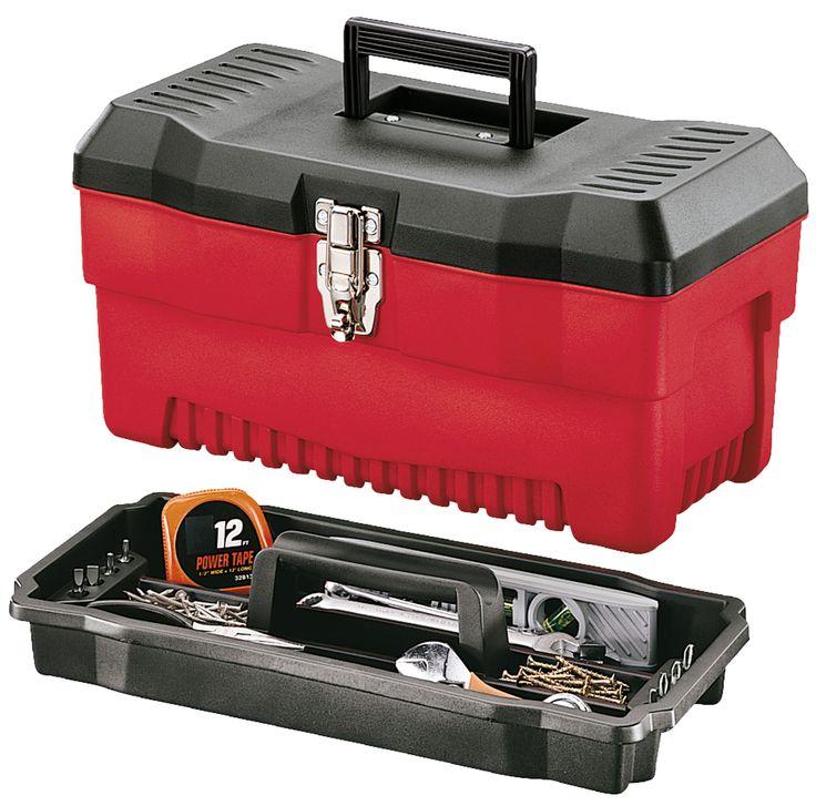 Model Pr 16 Professional Plastic Tool Box Has Galvanized
