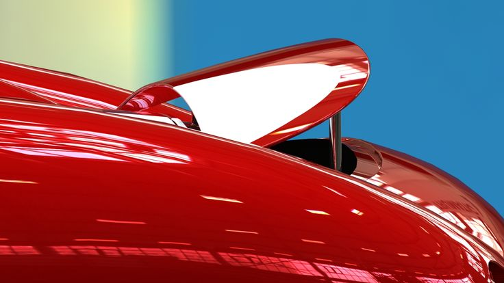 Detail of the new movable wing for the Zetini Haast Barchetta.