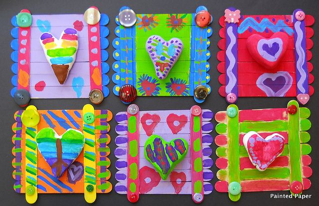 Crazy patterned hearts | Flickr - Photo Sharing!