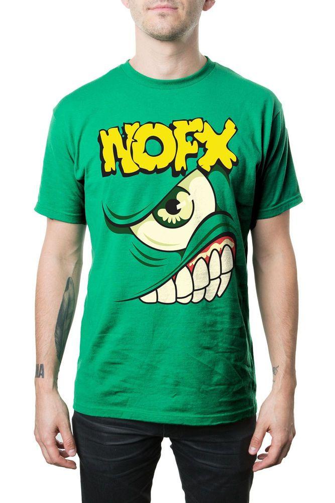 NOFX - Mons Tour Kelly Green T-Shirt - Brand New #nofx #punkrock #tourshirt