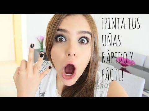 PINTA TUS UÑAS FÀCIL ( 3 DISEÑOS ) ♥ - Yuya - YouTube